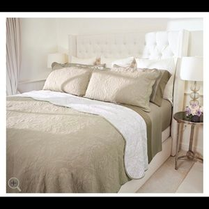 Casa Zeta-Jones Reversible Full Cotton Coverlet Se